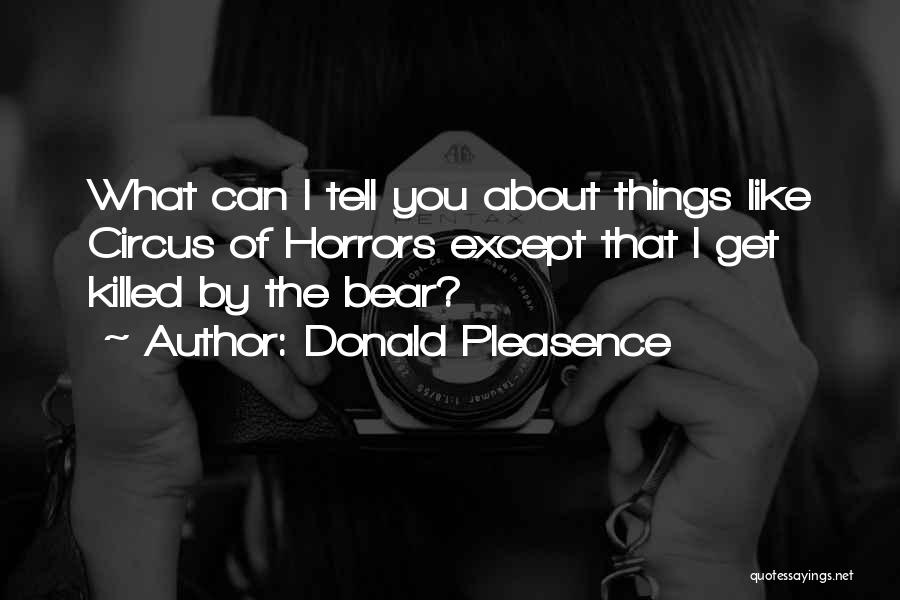 Donald Pleasence Quotes 436658