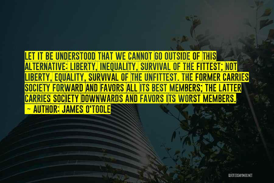 Done Doing Favors Quotes By James O'Toole