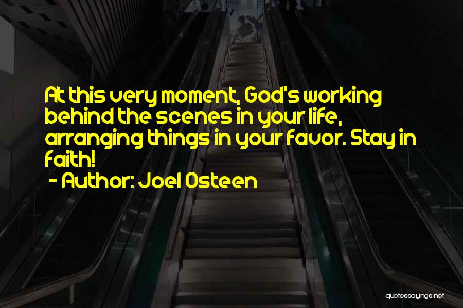 Done Doing Favors Quotes By Joel Osteen