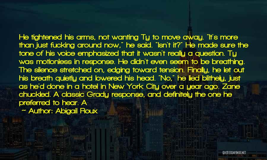 Done Over You Quotes By Abigail Roux