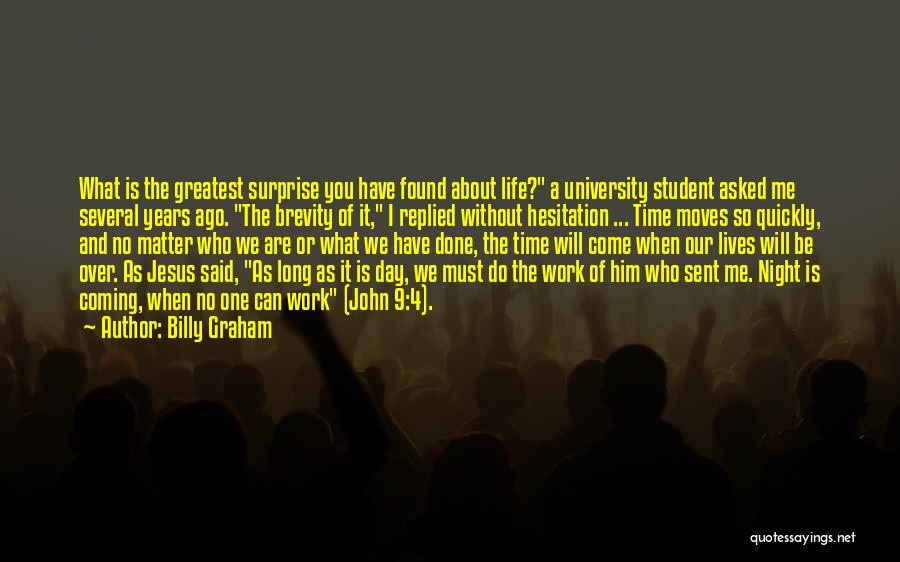 Done Over You Quotes By Billy Graham