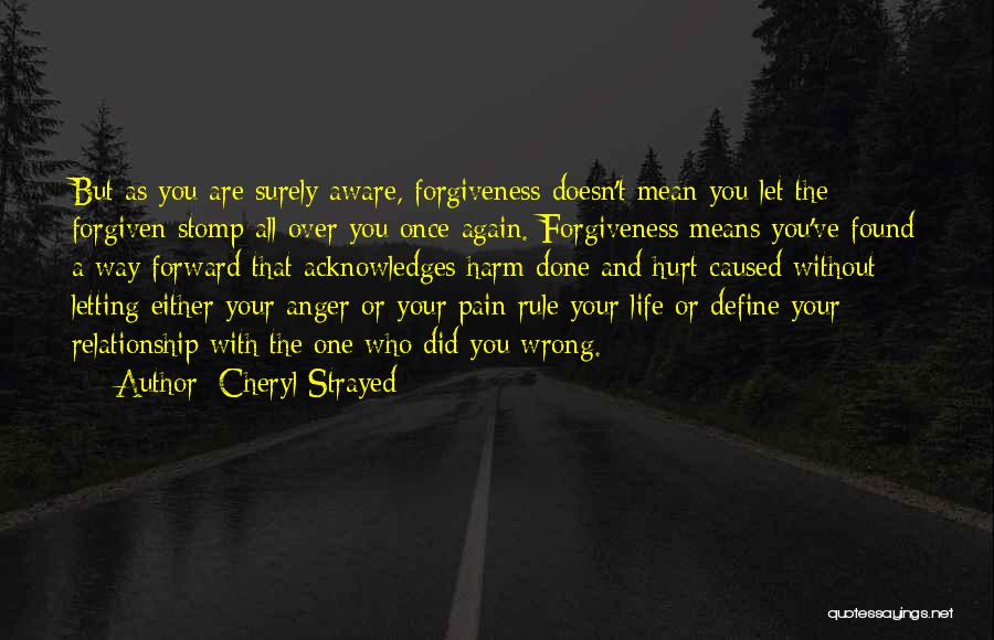 Done Over You Quotes By Cheryl Strayed