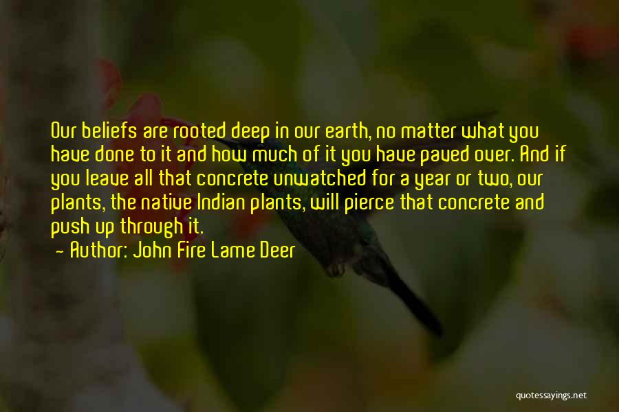 Done Over You Quotes By John Fire Lame Deer