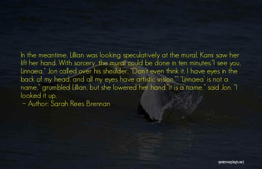 Done Over You Quotes By Sarah Rees Brennan