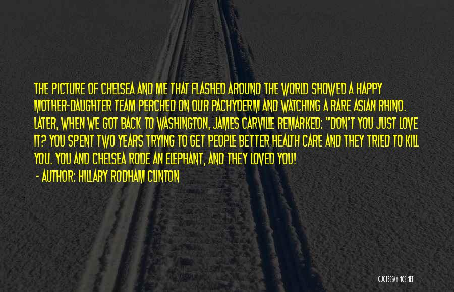Done Trying Picture Quotes By Hillary Rodham Clinton