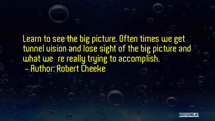 Done Trying Picture Quotes By Robert Cheeke