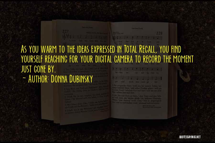 Donna Dubinsky Quotes 1109191
