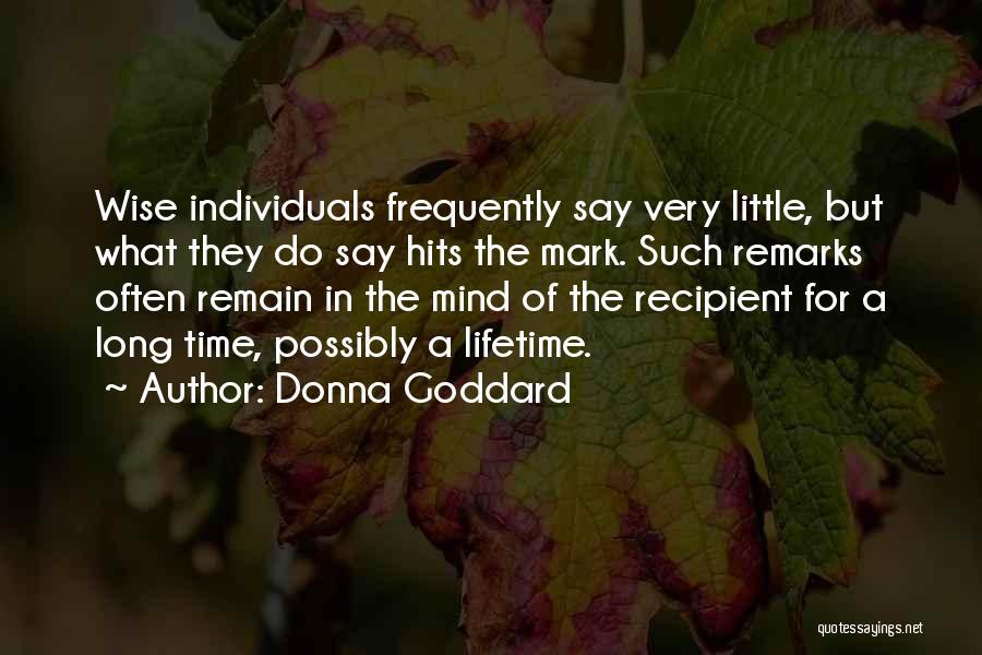 Donna Goddard Quotes 1047186
