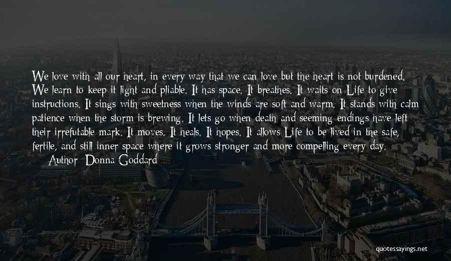 Donna Goddard Quotes 1836738