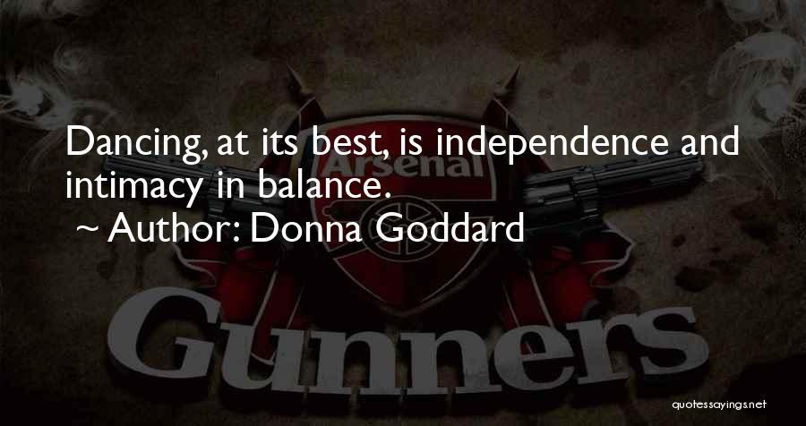 Donna Goddard Quotes 208710