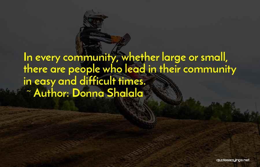 Donna Shalala Quotes 307291