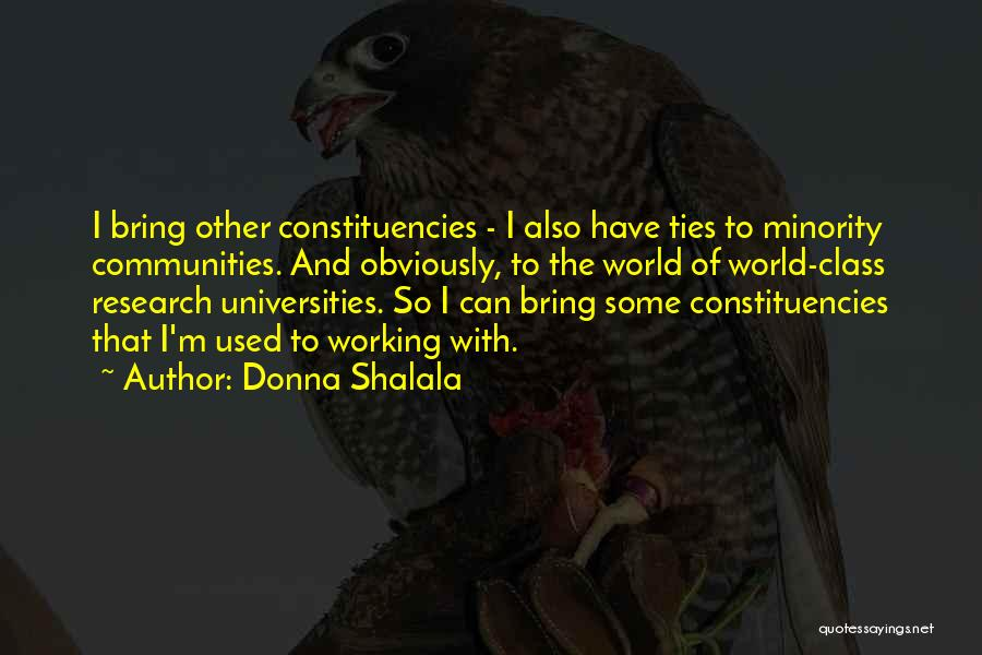 Donna Shalala Quotes 384339