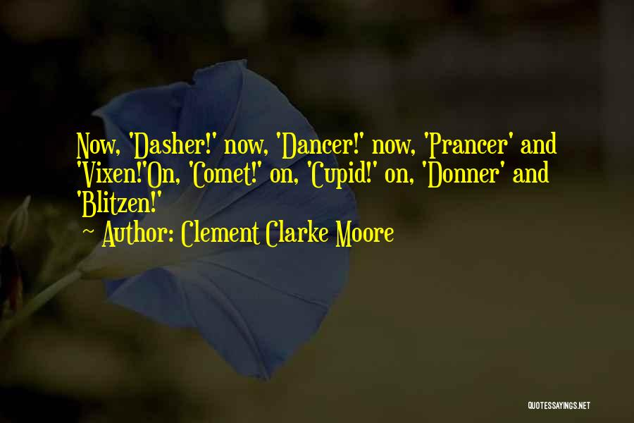 Donner Quotes By Clement Clarke Moore
