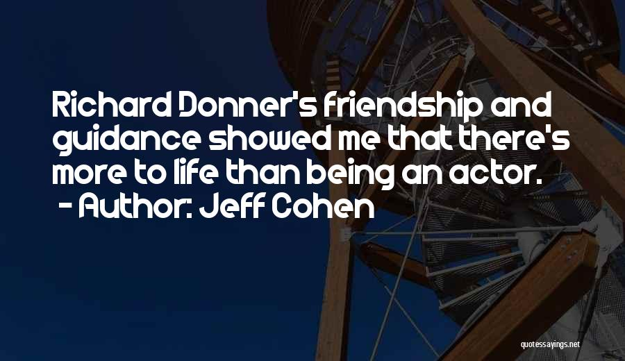 Donner Quotes By Jeff Cohen