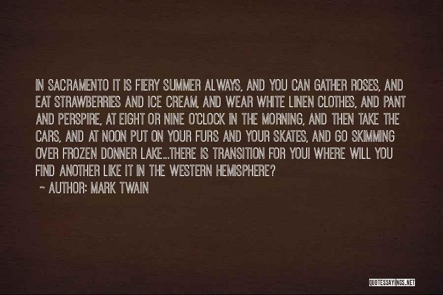 Donner Quotes By Mark Twain