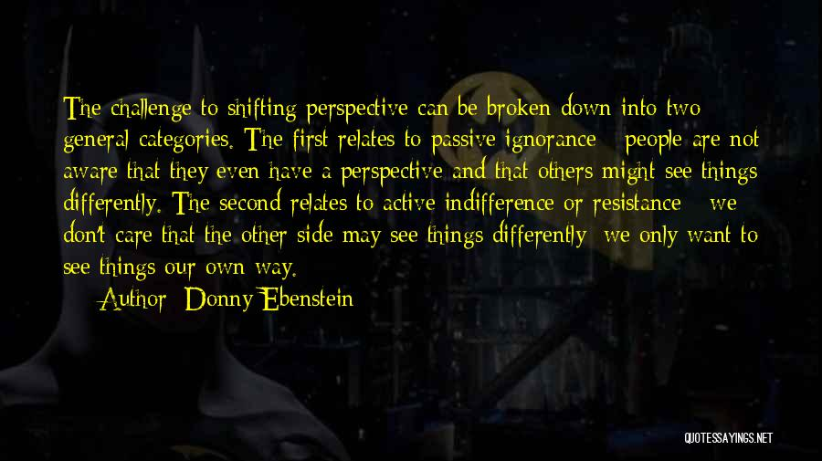 Donny Quotes By Donny Ebenstein