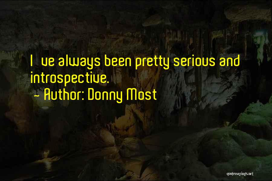 Donny Quotes By Donny Most