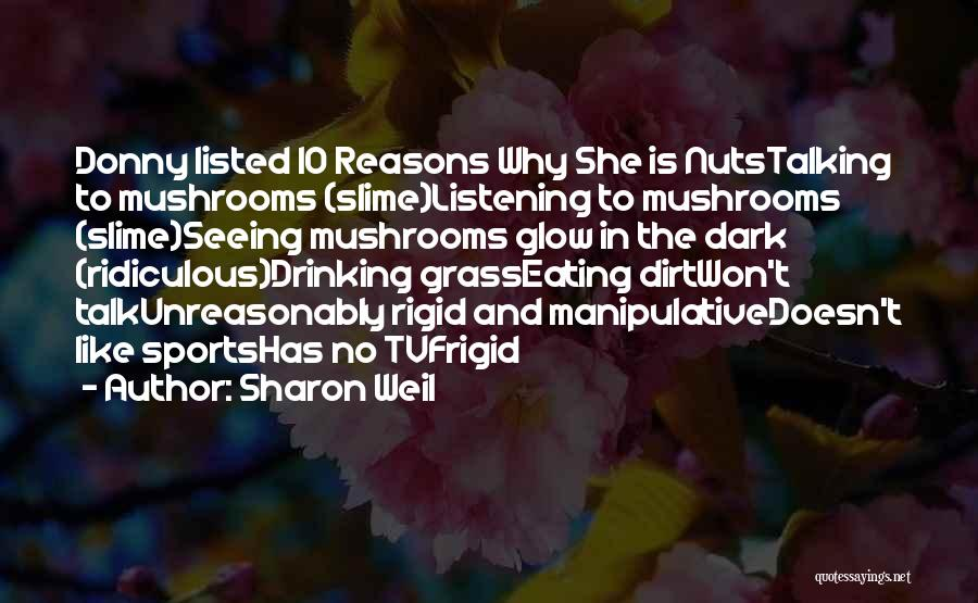 Donny Quotes By Sharon Weil