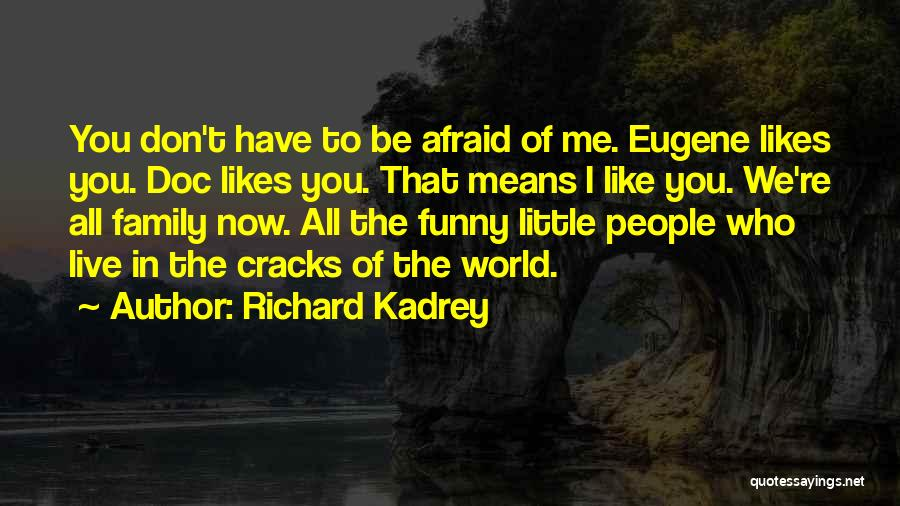 Don't Be Afraid To Live Quotes By Richard Kadrey