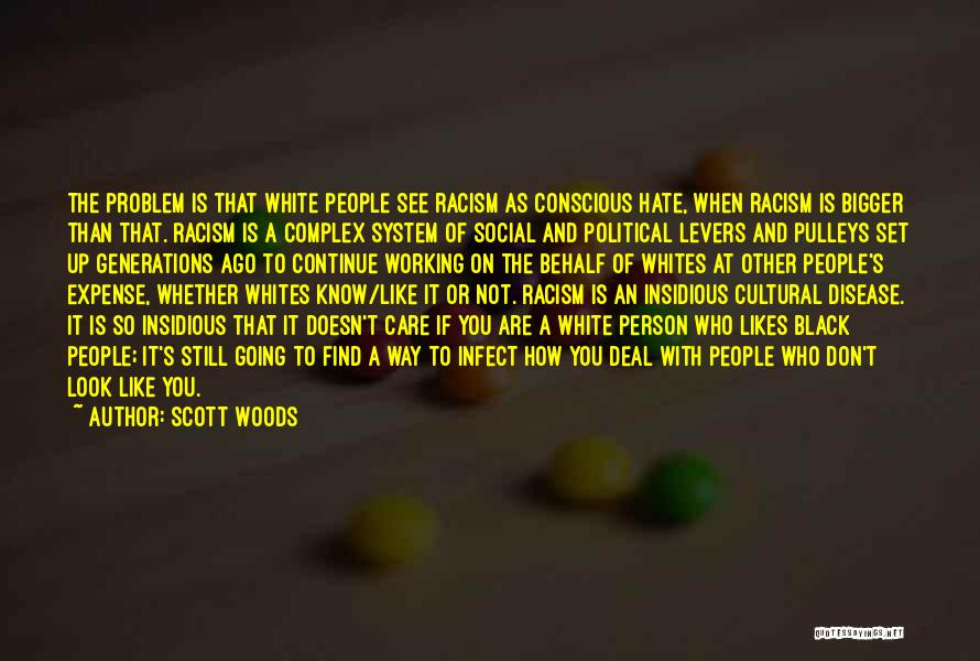 Don't Care If You Hate Me Quotes By Scott Woods