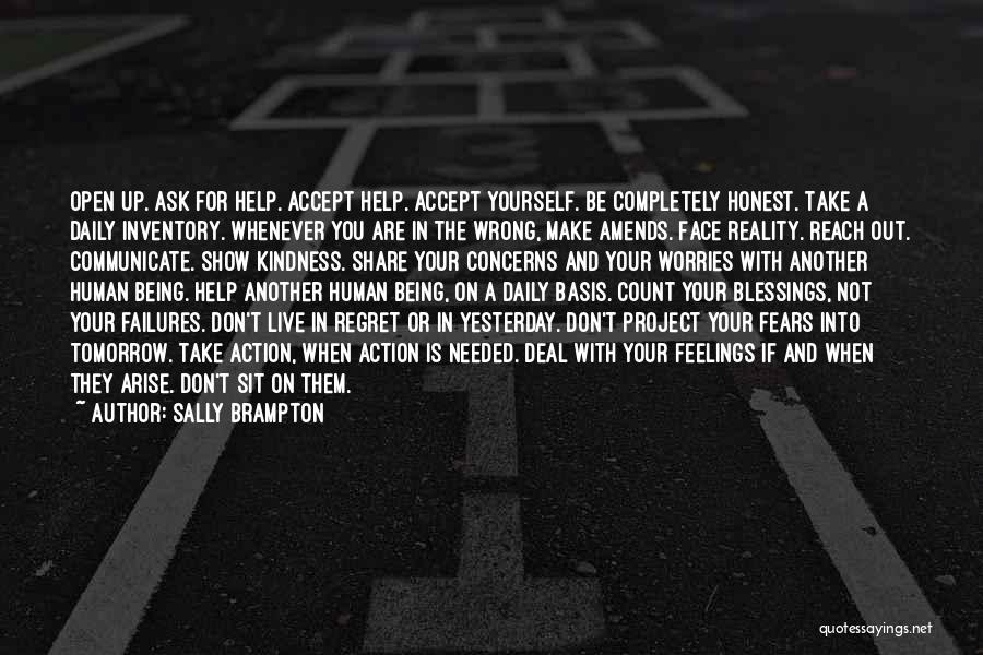 Don't Count Your Blessings Quotes By Sally Brampton