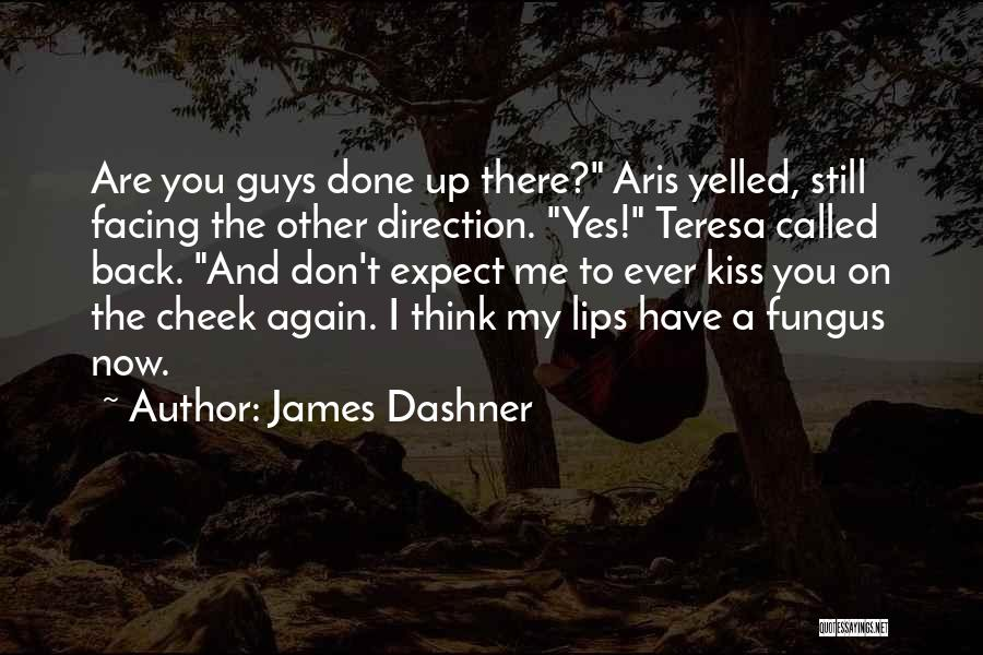 Don't Expect Me Quotes By James Dashner