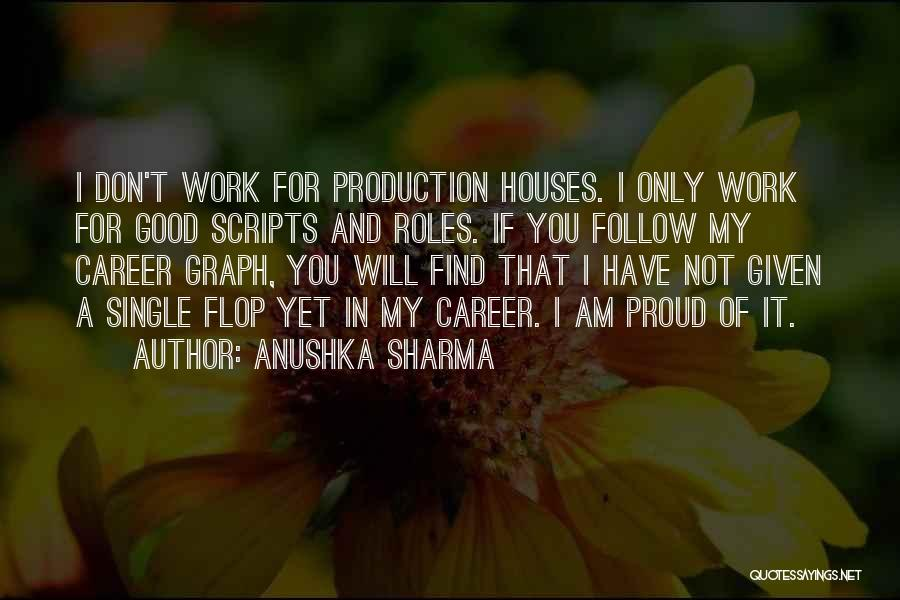 Don't Flop Quotes By Anushka Sharma