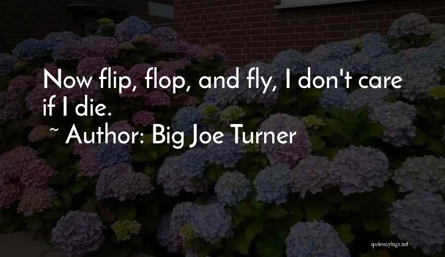 Don't Flop Quotes By Big Joe Turner