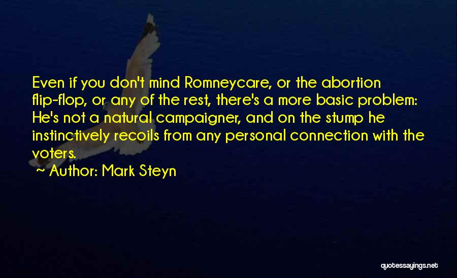 Don't Flop Quotes By Mark Steyn