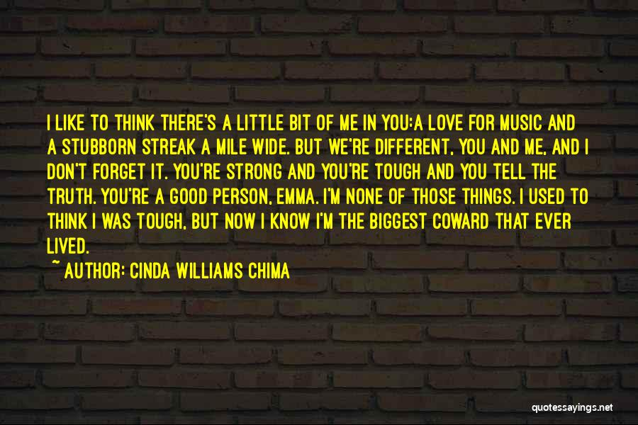 Don't Forget Me Love Quotes By Cinda Williams Chima