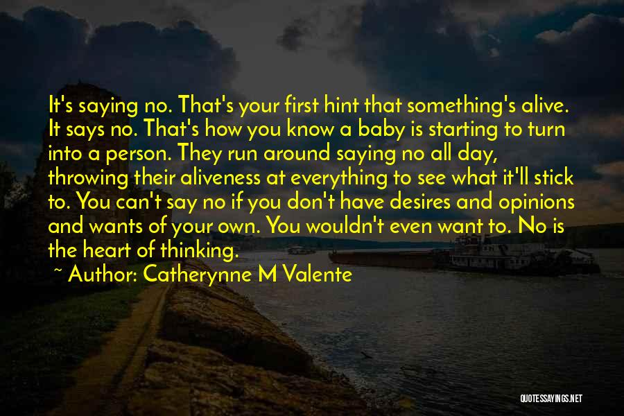 Don't Get The Hint Quotes By Catherynne M Valente