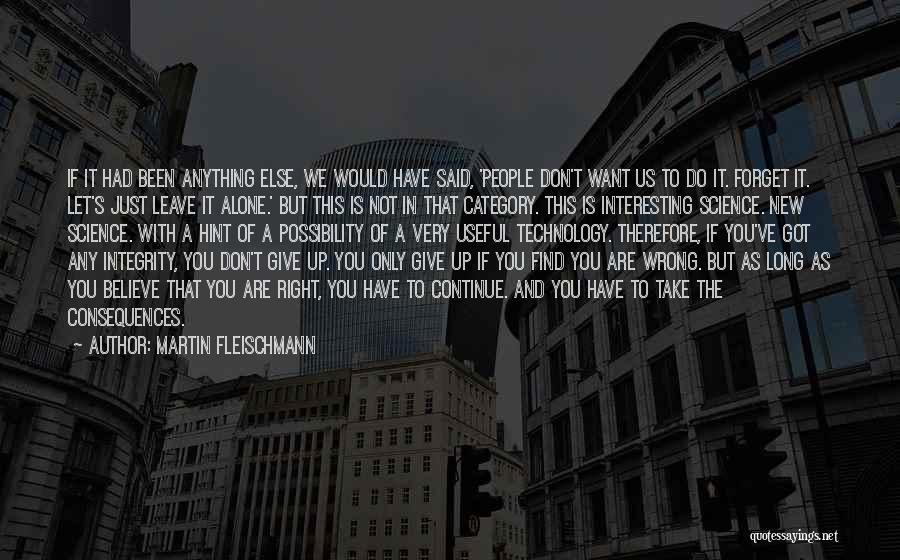Don't Get The Hint Quotes By Martin Fleischmann