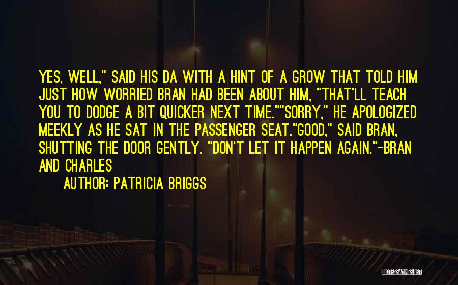 Don't Get The Hint Quotes By Patricia Briggs