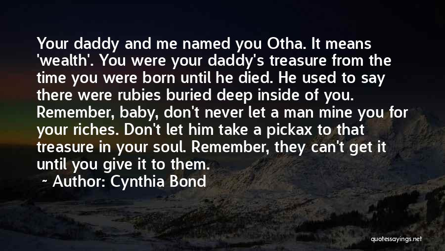 Don't Give Up Relationship Quotes By Cynthia Bond