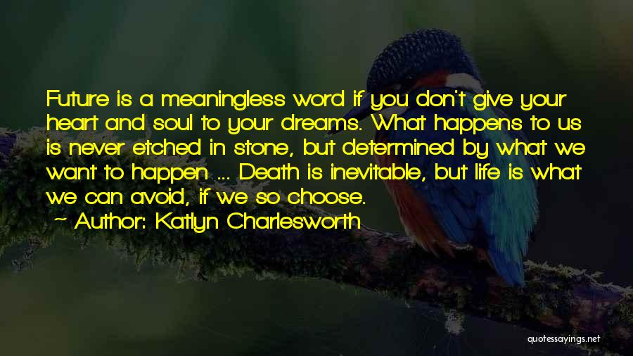 Don't Give Your Heart Quotes By Katlyn Charlesworth