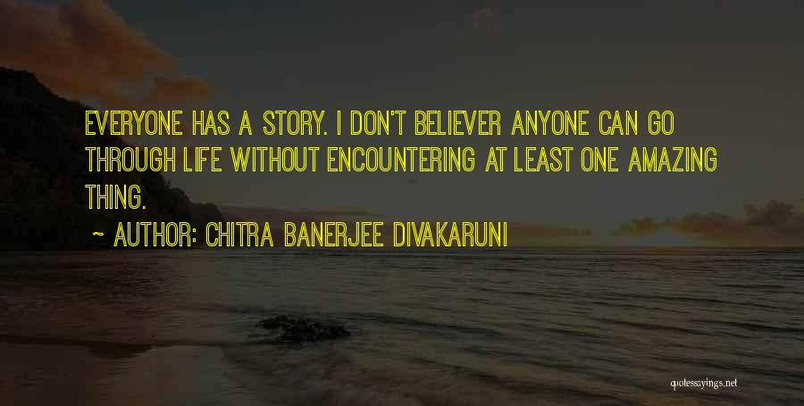 Don't Go Through Life Quotes By Chitra Banerjee Divakaruni