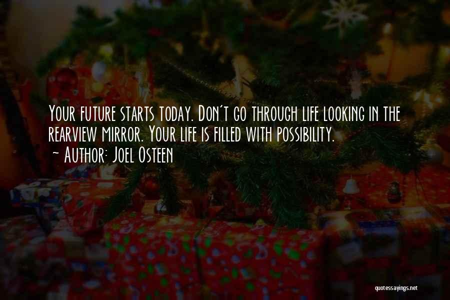 Don't Go Through Life Quotes By Joel Osteen