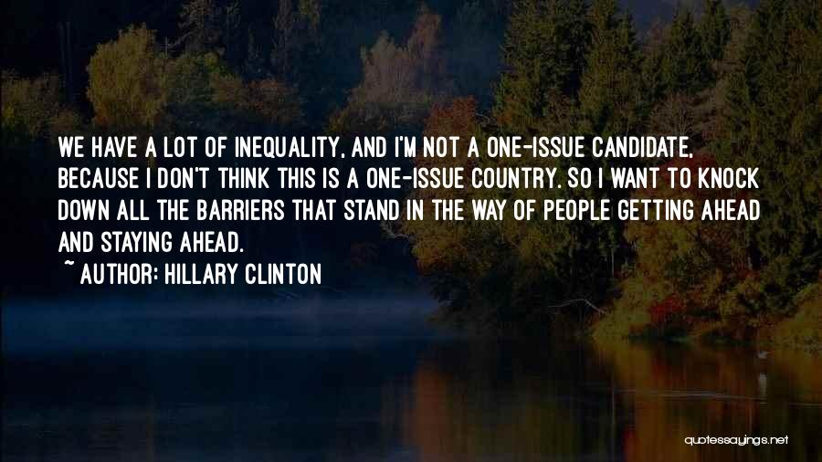 Don't Knock Me Down Quotes By Hillary Clinton