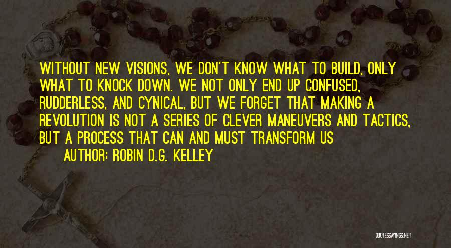 Don't Knock Me Down Quotes By Robin D.G. Kelley