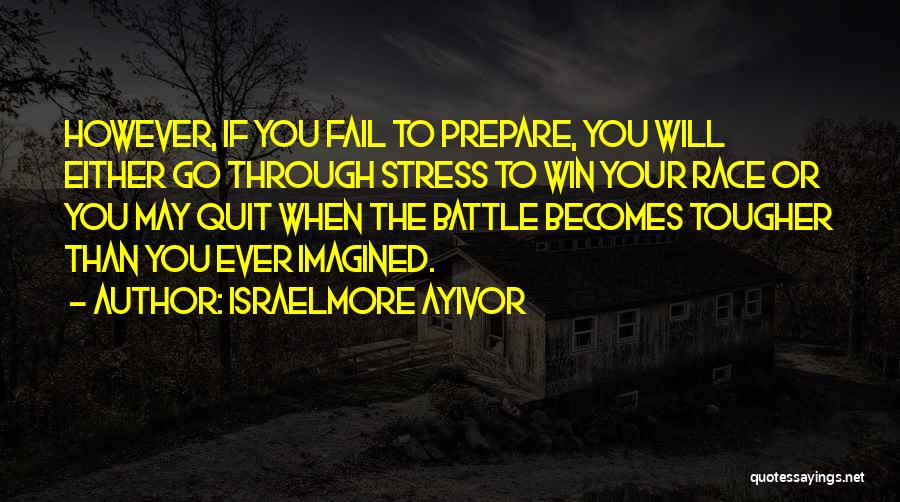 Don't Let Stress Quotes By Israelmore Ayivor