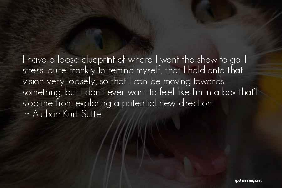 Don't Let Stress Quotes By Kurt Sutter