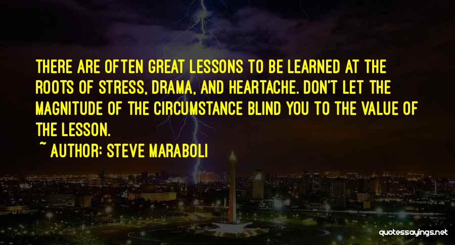 Don't Let Stress Quotes By Steve Maraboli