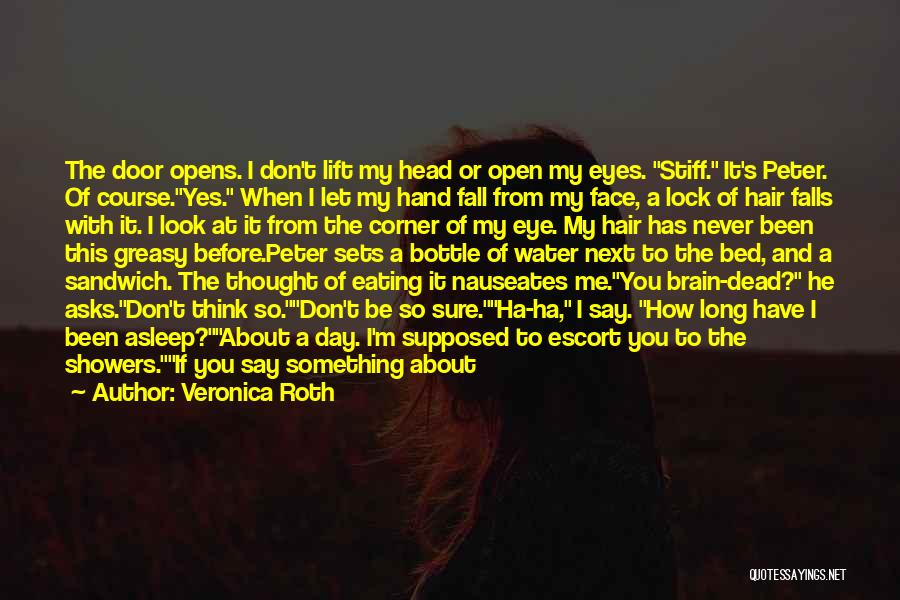 Don't Look Me In The Eye Quotes By Veronica Roth