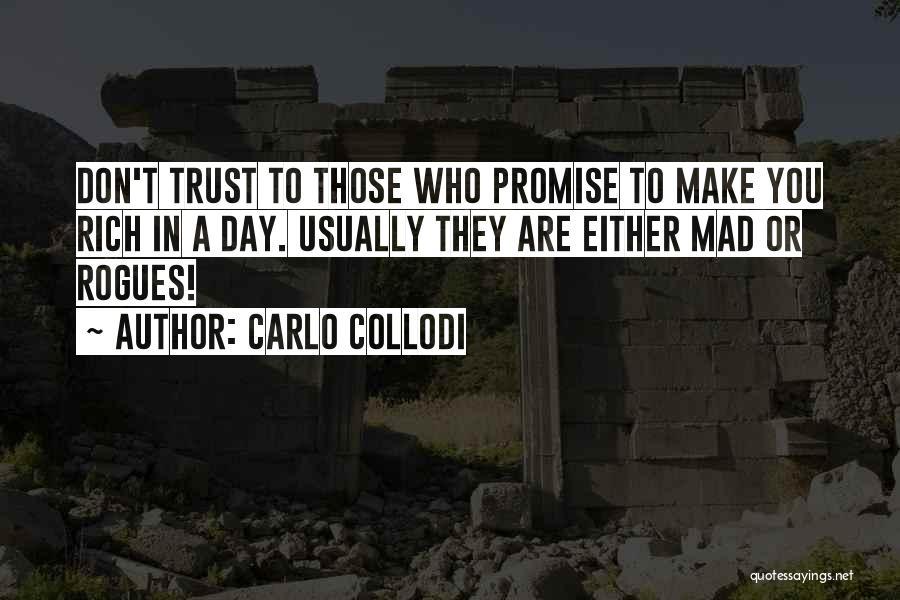Don't Make Me Mad Quotes By Carlo Collodi