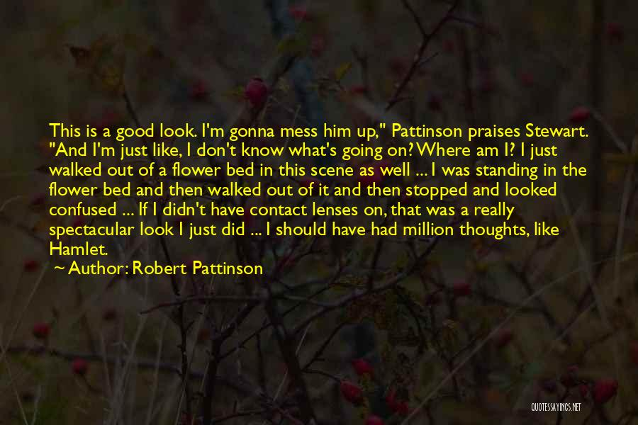 Don't Mess Up A Good Thing Quotes By Robert Pattinson