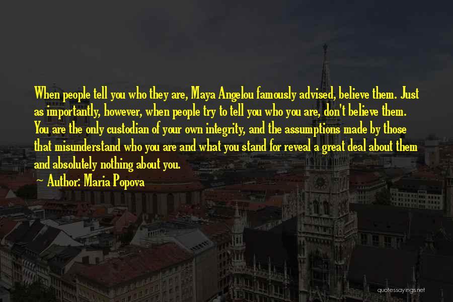 Don't Misunderstand Quotes By Maria Popova