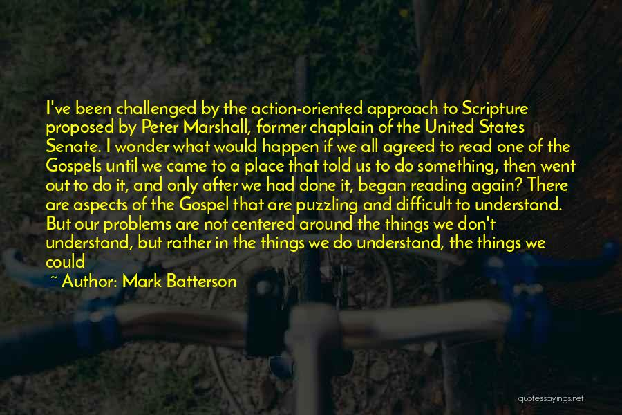 Don't Misunderstand Quotes By Mark Batterson