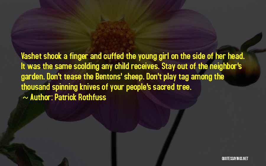 Don't Play A Girl Quotes By Patrick Rothfuss