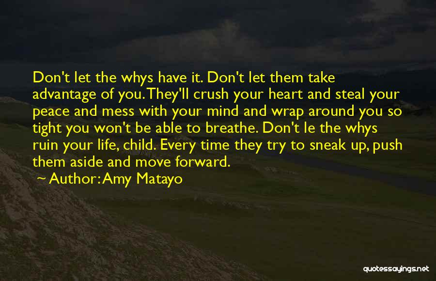 Don't Push Me Around Quotes By Amy Matayo