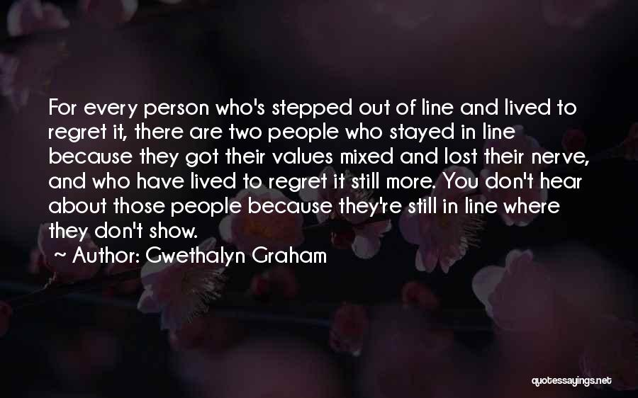 Don't Regret It Quotes By Gwethalyn Graham